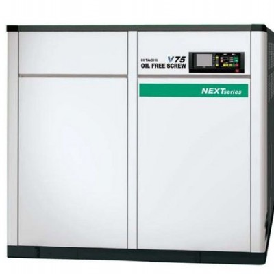 Hitachi Oil Free Screw Compressor