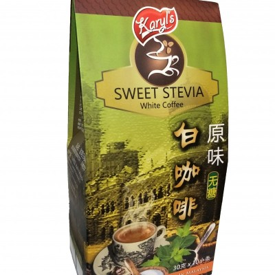 Stevia white coffee