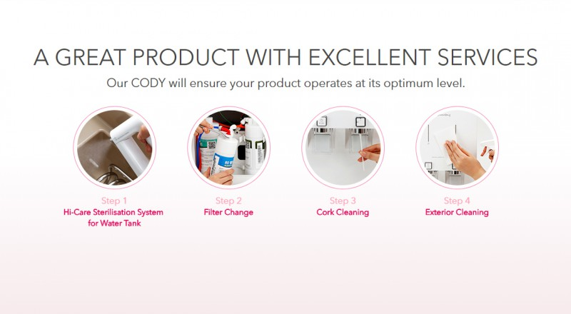A Great Product With Excellent Services - Harry (CHP-590N) Water Purifier