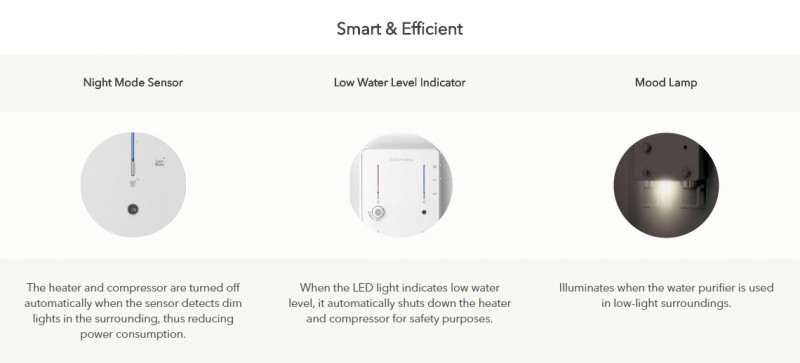 Smart & Efficient - Villaem (CHP-08AR) Water Purifier