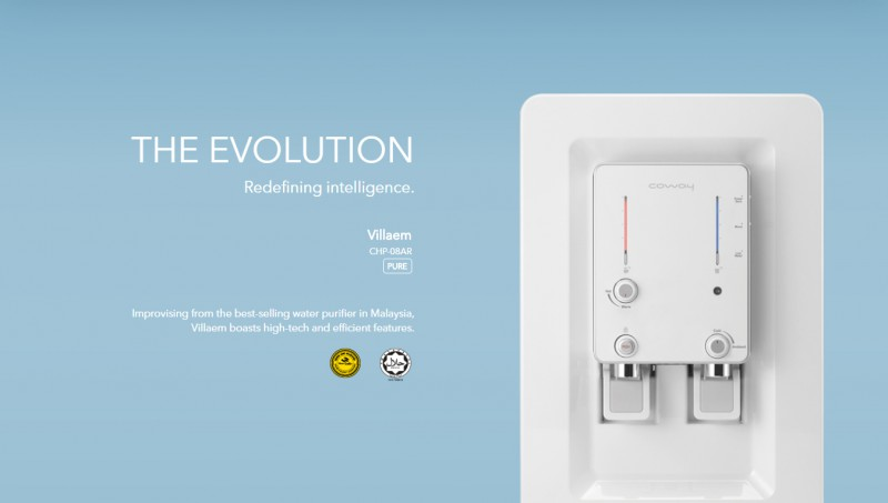 The Evolution - Villaem (CHP-08AR) Water Purifier