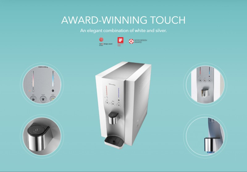 Award-Winning Touch - Petit (CHP-06DL) Water Purifier