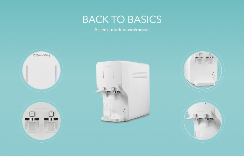 Back To Basics - Neo (CHP-260N) Water Purifier
