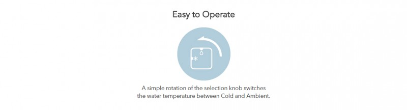 Easy to Operate - Neo (CHP-260N) Water Purifier