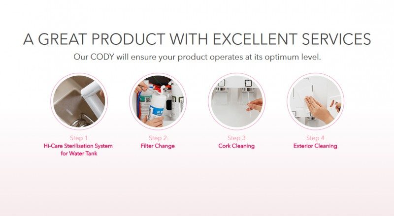 A Great Product With Excellent Services - Neo (CHP-260N) Water Purifier