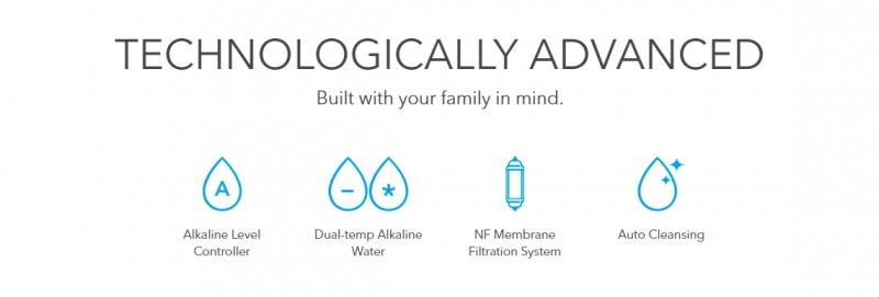 Technologically Advanced - Inception (CHPE-250NF) Alkaline Water Purifier