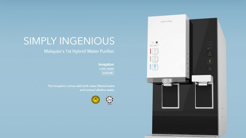 Simply Ingenious - Inception (CHPE-250NF) Alkaline Water Purifier