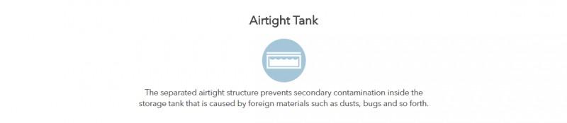 Airtight Tank - Ferry (P-08L) Water Purifier