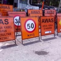Temporary Traffic Signage