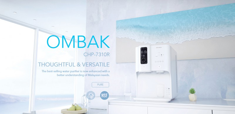 THOUGHTFUL & VERSATILE - Ombak CHP-7310R Water Purifier