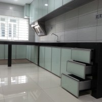 Cabinet for Kitchen aluminium
