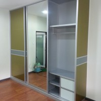 wardrobe with anti jump door