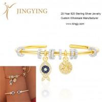 Bracelet silver jewelry