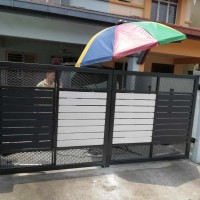Mild Steel Swing Gate