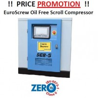 Oil Free Scroll Compressor 5HP