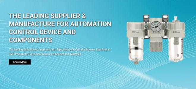 Industrial Automation: Pneumatic Valve & Pneumatic Actuator Malaysia
