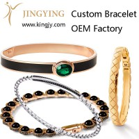 Custom ring gold plated silver jewelry supplier and