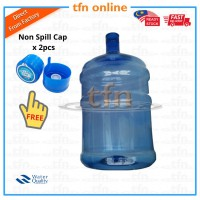 3 Gallon Water Bottle With Cap Set For Bottle Dispenser
