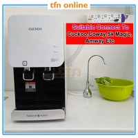 TFN Portable Chrome SUS304 Drinking Water Filter Faucet, Sink Kitchen Tap, Portable Faucet for Water