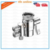 TFN 2 Way Diverter Valve For Water Filter Purifiers 1/4 Tube (6mm)