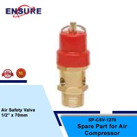 "AIR SAFETY VALVE 1/2"" X 70MM"
