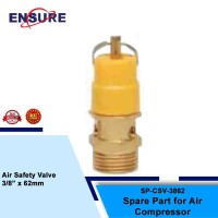 "AIR SAFETY VALVE 3/8"" X 62MM"