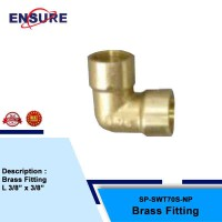 BRASS FITTING L FOR SNOW WASH TANK