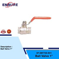 BALL VALVE FOR SNOW WASH TANK