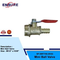 MINI BALL VALVE FOR SNOW WASH TANK