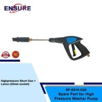 GUN 22MM FOR H/PRESSURE E610