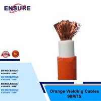 ORANGE WELDING CABLES 90MTS