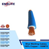 BLUE WELDING CABLES 100% COPPER - 100MTS