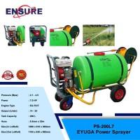 EYUGA POWER SPRAYER C/W ENGINE 7.0HP & GUN & HOSE 200L7