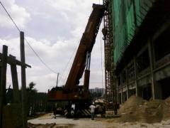 We provide crane service