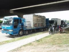 Transportation of Heavy Machinery