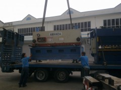Heavy Machineries and Factory Relocation
